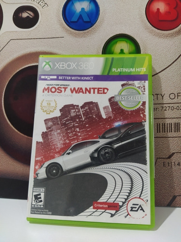 Need For Speed Most Wanted Xbox 360 Original Físico Usado
