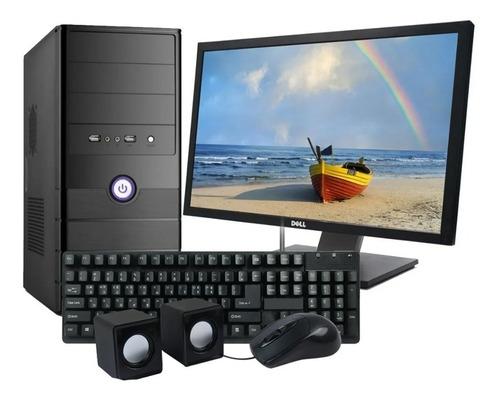 Imagen 1 de 2 de Torre Pc Computadora Nueva Intel Dual Core + Monitor Lcd 22