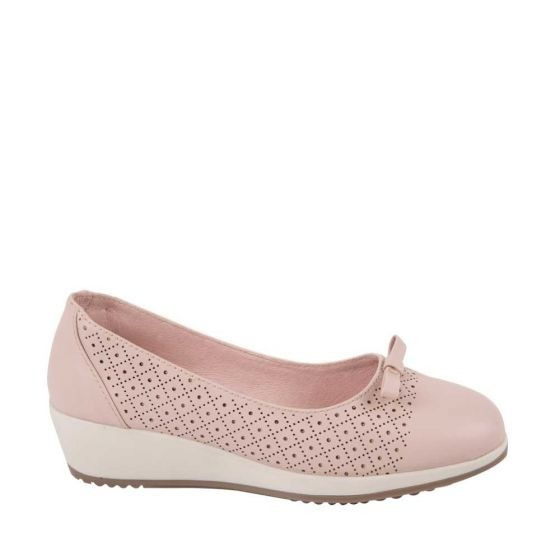 Zapato Confort Shosh 7215 Cof 824980 Altura 4 Cm Sintetico
