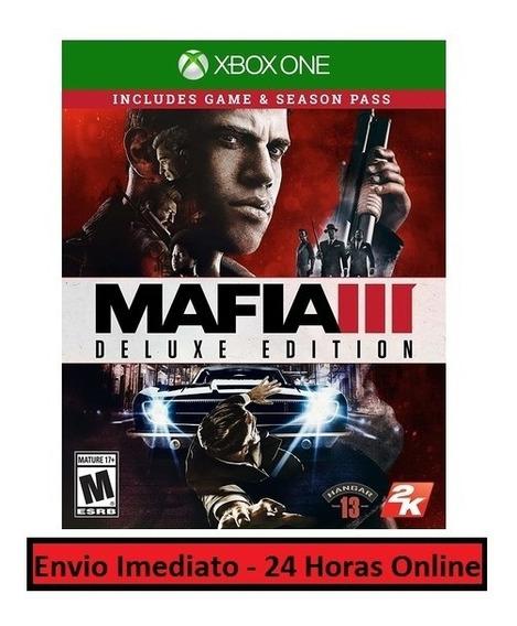 Mafia 3 Jogo + Todo Conteúdo Extra Xbox One Midia Digital