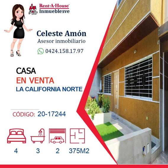 Casa La California Norte 0424.158.17.97 Ca Mls #20-17244