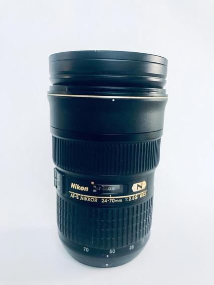 Lente Nikon Af-s Nikkor 24-70mm F/2.8g Ed -zerada