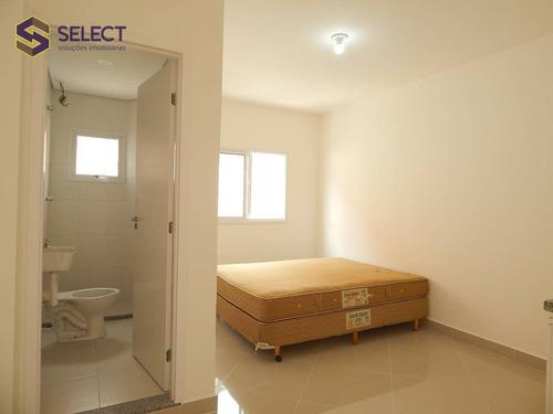 Imagem 1 de 20 de Kitnet Com 1 Dormitório Para Alugar, 15 M² Por R$ 950,00/mês - Rudge Ramos - São Bernardo Do Campo/sp - Kn0001