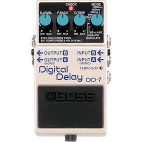 Pedal Boss Dd7 Digital Delay Modulation Dd-7 P/ Guitarra