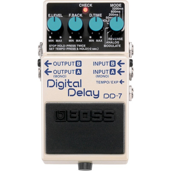 Pedal Boss Dd7 Digital Delay Modulation Dd-7 P/ Guitarra