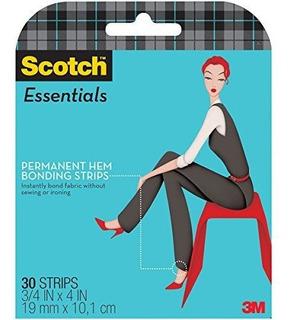 Scotch Essentials Permanent Hem Bonding Strips, 30 Strips
