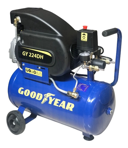 Compresora Good Year Gy224dh 2hp 25lt