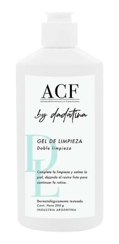Imagen 1 de 1 de Acf By Dadatina Gel De Limpieza Facial Doble Limpieza 200ml
