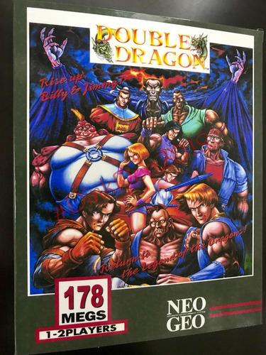 Caixa Neo Geo Aes/mvs Double Dragon