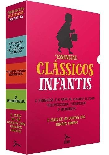 Box Essencial Clássicos Infantis - Irmãos Grimm (3 Livros) #