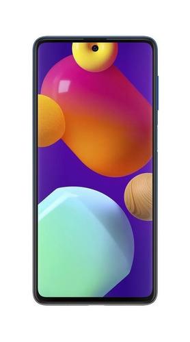 Imagem 1 de 5 de Samsung Galaxy M62 Dual SIM 128 GB blue 8 GB RAM