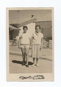 Foto Antiga,mar Del Plata Argentina 1956,usado.ver Descr.