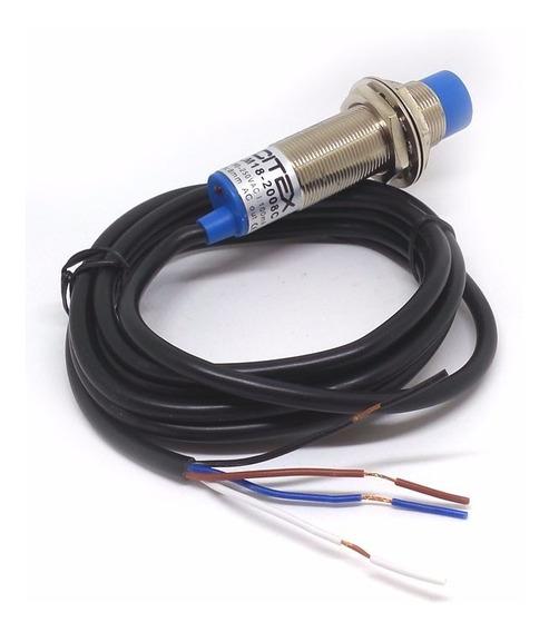 Lm18-2008c Sensor Indutivo 90~250vca Nf + Na Não Faceado