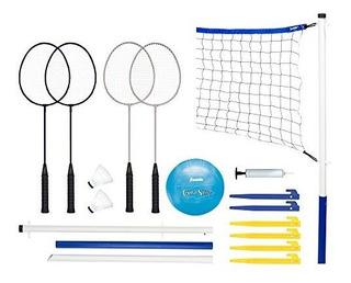 Franklin Sports - Juego De Bádminton Y Voleibol Recreativo