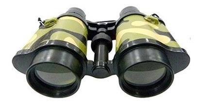 Binóculo Camuflado Infantil Brinquedo Presente 16,5x5,5x12cm