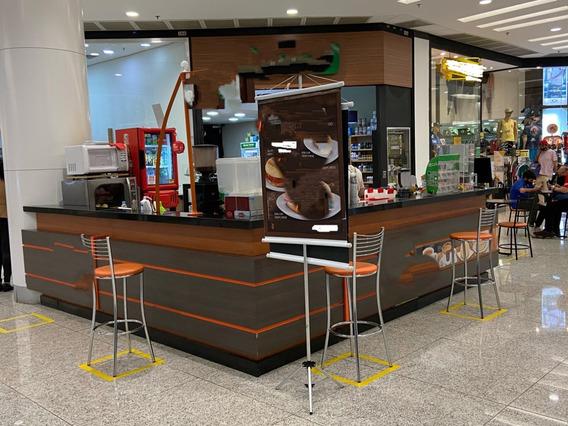 Quiosque De Café Em Shopping - Passo O Ponto