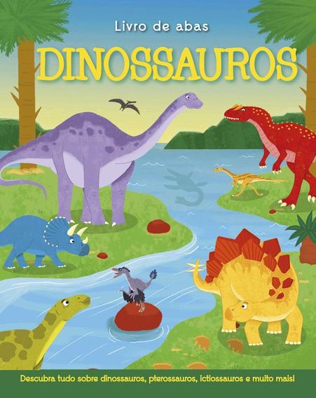 Livro Interativo Dinossauros - Capa Dura Com Abas