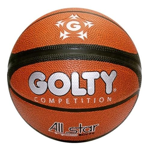 Balon Baloncesto Basketbal Golty All Star #7 + Envio Gratis