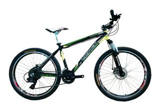 Bicicleta Mountain Bike Viking Aluminio,componentes Shimano!