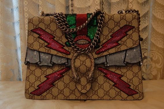 Bolso De Hombro Gucci Dionysus Mediano