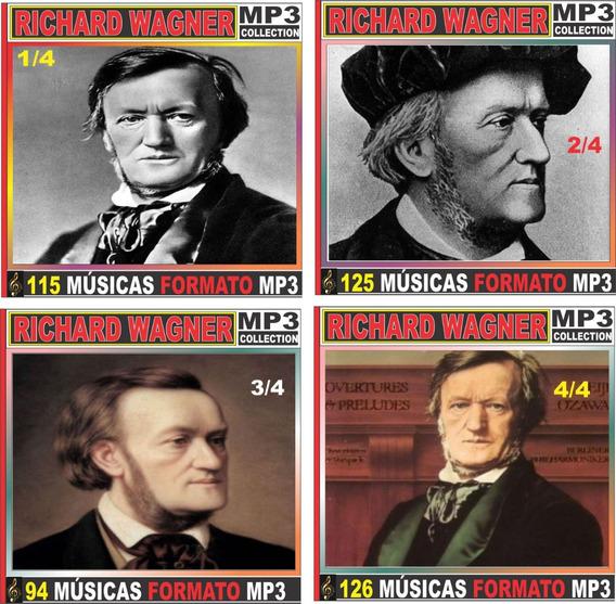 Richard Wagner Discografia Completa 43 Cd Com 460 Músicas