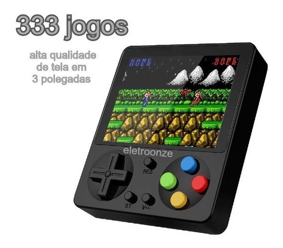 Mini Vídeo Game Portátil 333jogos 3 Lcd Alta Qualidade