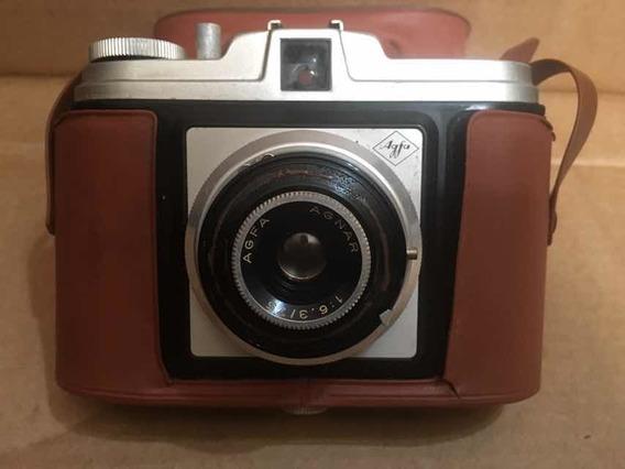 Antiga Máquina Fotográfica Agfa Agnar Alemã