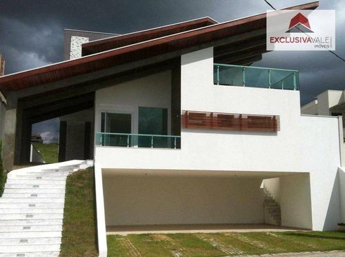 Casa Com 3 Dormitórios À Venda, 336 M² Por R$ 1.700.000,00 - Urbanova - São José Dos Campos/sp - Ca0027
