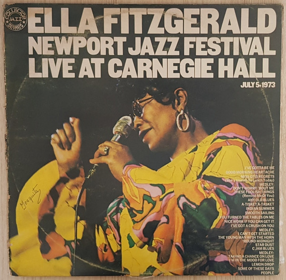 Lp Duplo Ella Fitzgerald - Newport Jazz (1973) Capa Dupla