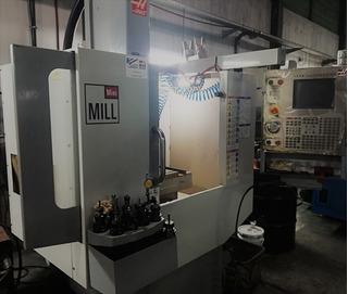 Hass Mini Mill 2007 Con Completisimo Herramental