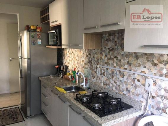 Apartamento Residencial À Venda, Bom Jesus, São José Dos Pinhais. - Ap0155