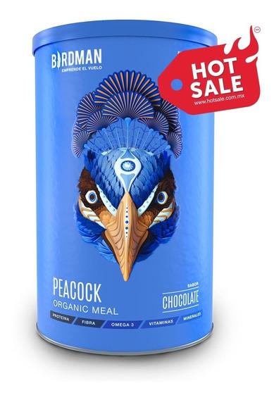 Suplemento Alimenticio Vegetal, Peacock Organic Meal 882gr Sustituto De Alimento Completo (kosher, Vegano, En Polvo)