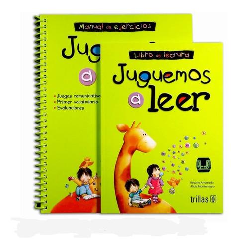 Imagen 1 de 1 de Juguemos A Leer + Libro De Ejercicios+ Libro De Lectura