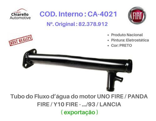 Tubo De Refrigeração Uno Fire .../93 Exportação