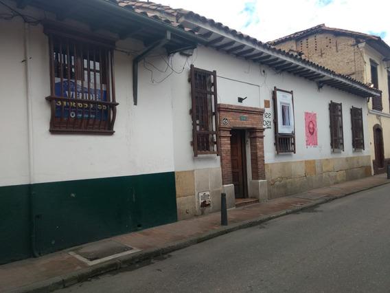 Venta Y Arriendo Casa La Candelaria 300 Metros Uso Cultural