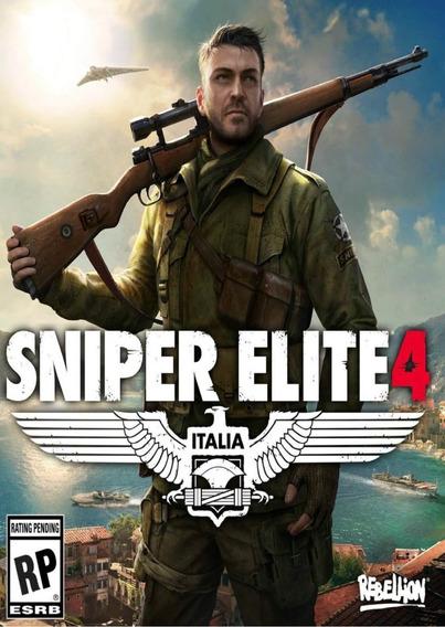 Sniper Elite 4 Pc - Steam Key (envio Rápido)
