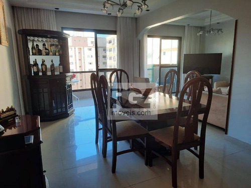 Imagem 1 de 30 de Apartamento Com 3 Dormitórios À Venda, 170 M² Por R$ 1.600.000,00 - Pompéia - Santos/sp - Ap7740