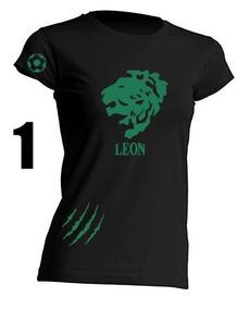 Blusa León Futbol Panzas Verdes