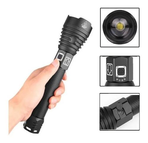 Imagem 1 de 9 de Xhp70 Lanterna De Alta Potência Usb Carregamento Display Zoo