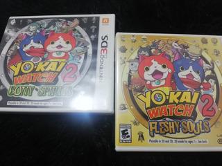 Yo-kai Watch 2 Nintendo 3ds Nuevos Y Sellados