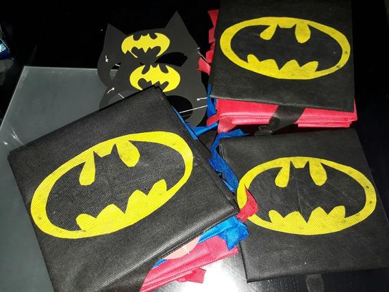 Capas Infatiles Superheroes Pack X10 Oferta !!!!!