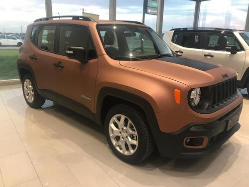 Nueva Jeep Renegade 1.8l Sport Mt - Precio Contado Mlr