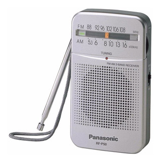 Radio Portátil Panasonic Rf-p50dpr-s Am/fm Fotopointonline