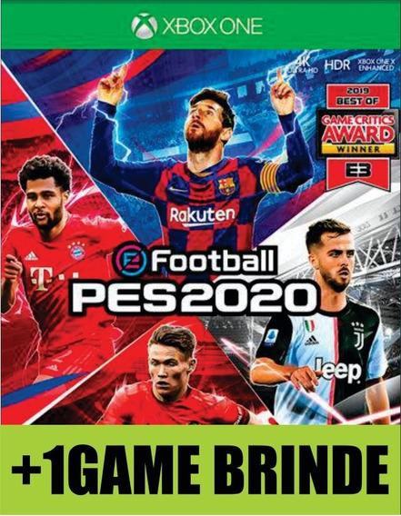 Pro Evolution Soccer 2020 Pes 20 Xbox One Mídia
