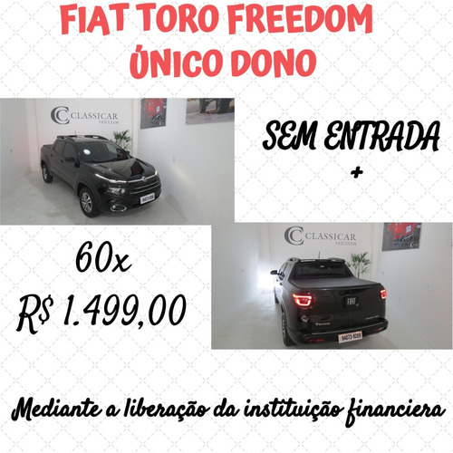 Fiat Toro Freedom At 2017 Freedon