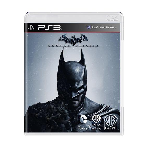Batman Arkham Origins Ps3 Mídia Física Pronta Entrega