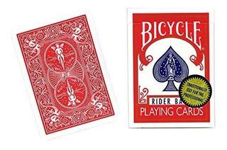 Naipes De Bicicletas Mms Gold Standard Red Back De Richard T