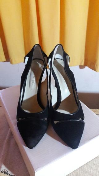 Zapatos Negros Fiesta - Un Solo Uso!