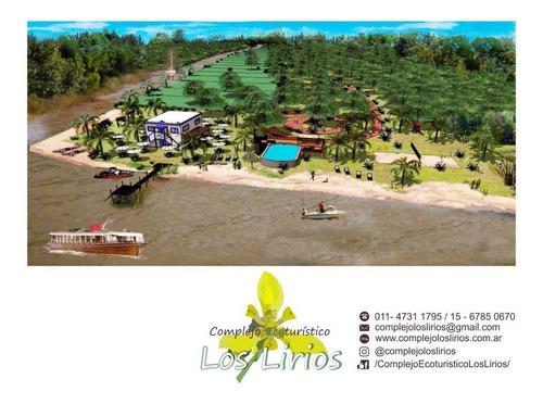 Terreno En El Delta Complejo Ecoturístico Los Lirios