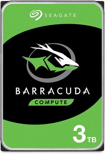 Seagate Barracuda 3tb Disco Duro Hdd Sata 6 Gb/s 3.5 In